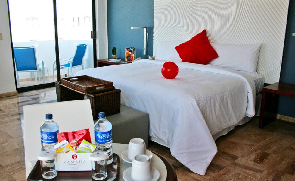 habitacion 1 cama vista frontal