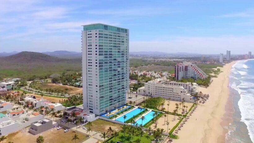 peninsula mazatlan playa departamentos